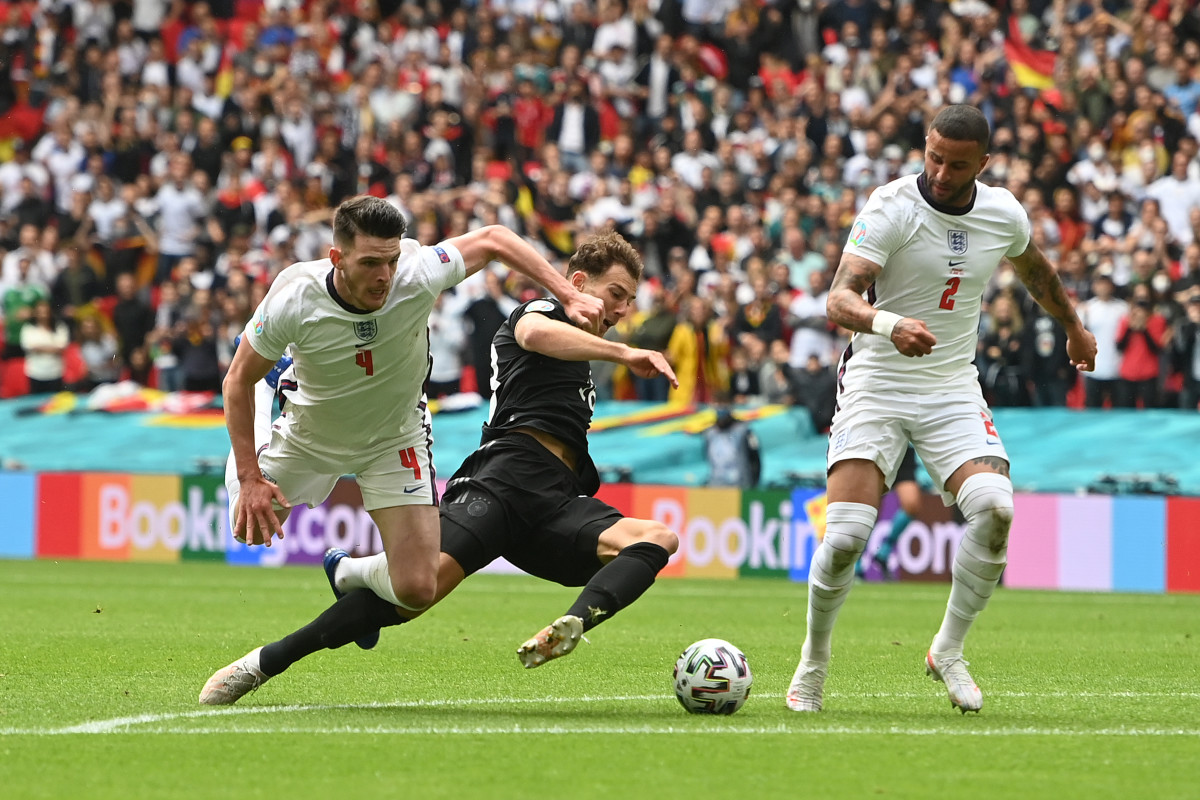 The midfielder has played every game for England so far in the tournament
