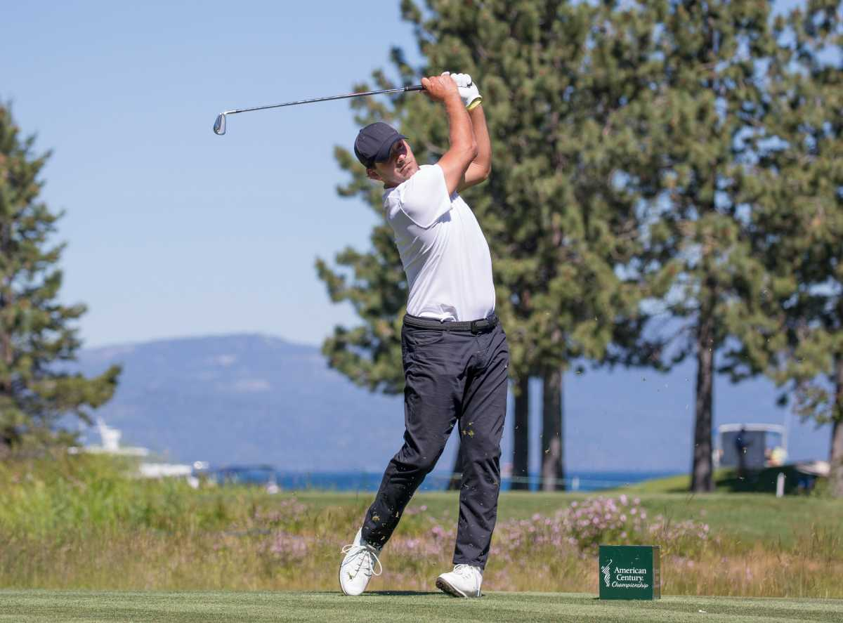 Former Dallas Cowboys quarterback Tony Romo, a two-time American Century Celebrity Championship winner, failed to advance at Wednesday's U.S. Amateur qualifier.