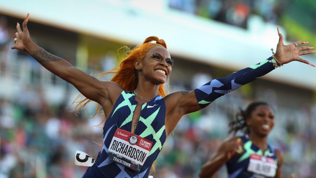 U.S. sprint star Sha'Carri Richardson