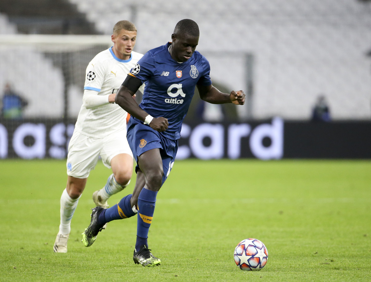 Sarr played for FC Porto last season on loan from Chelsea