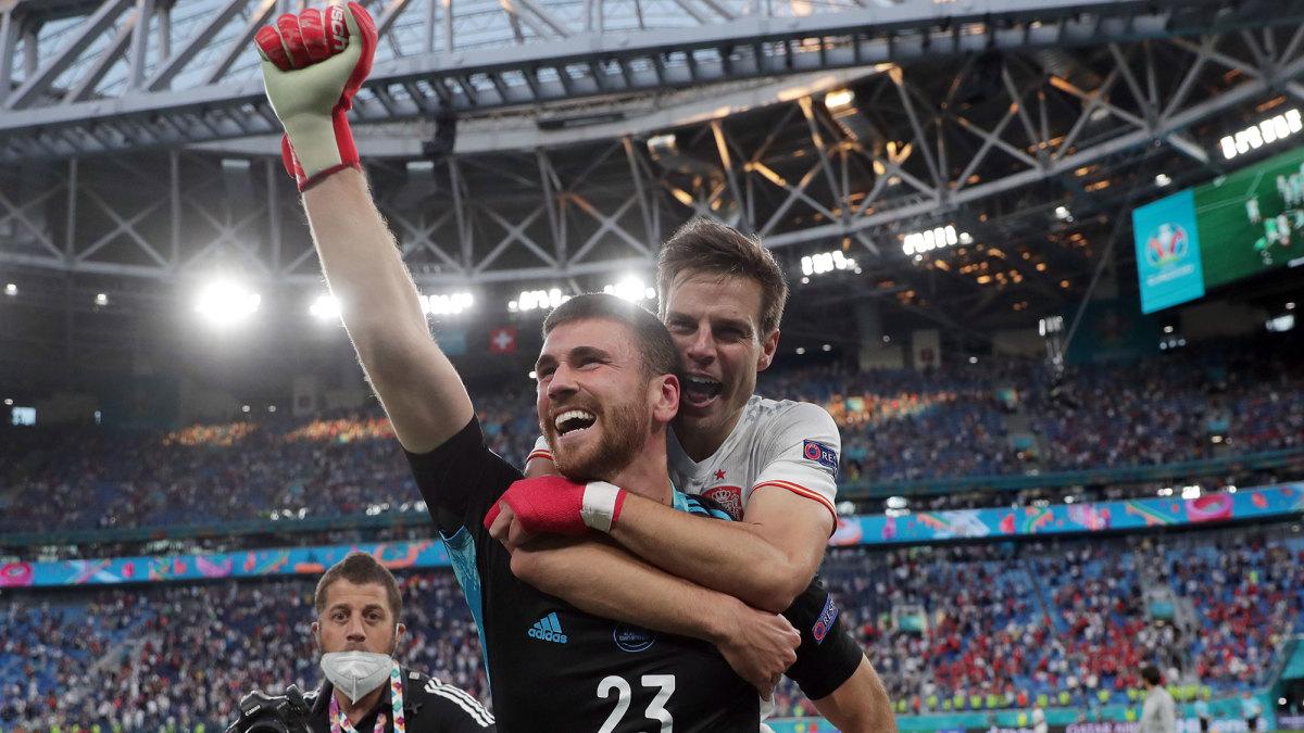Spain beats Switzerland in penalty kicks to reach the Euro 2020 semifinals