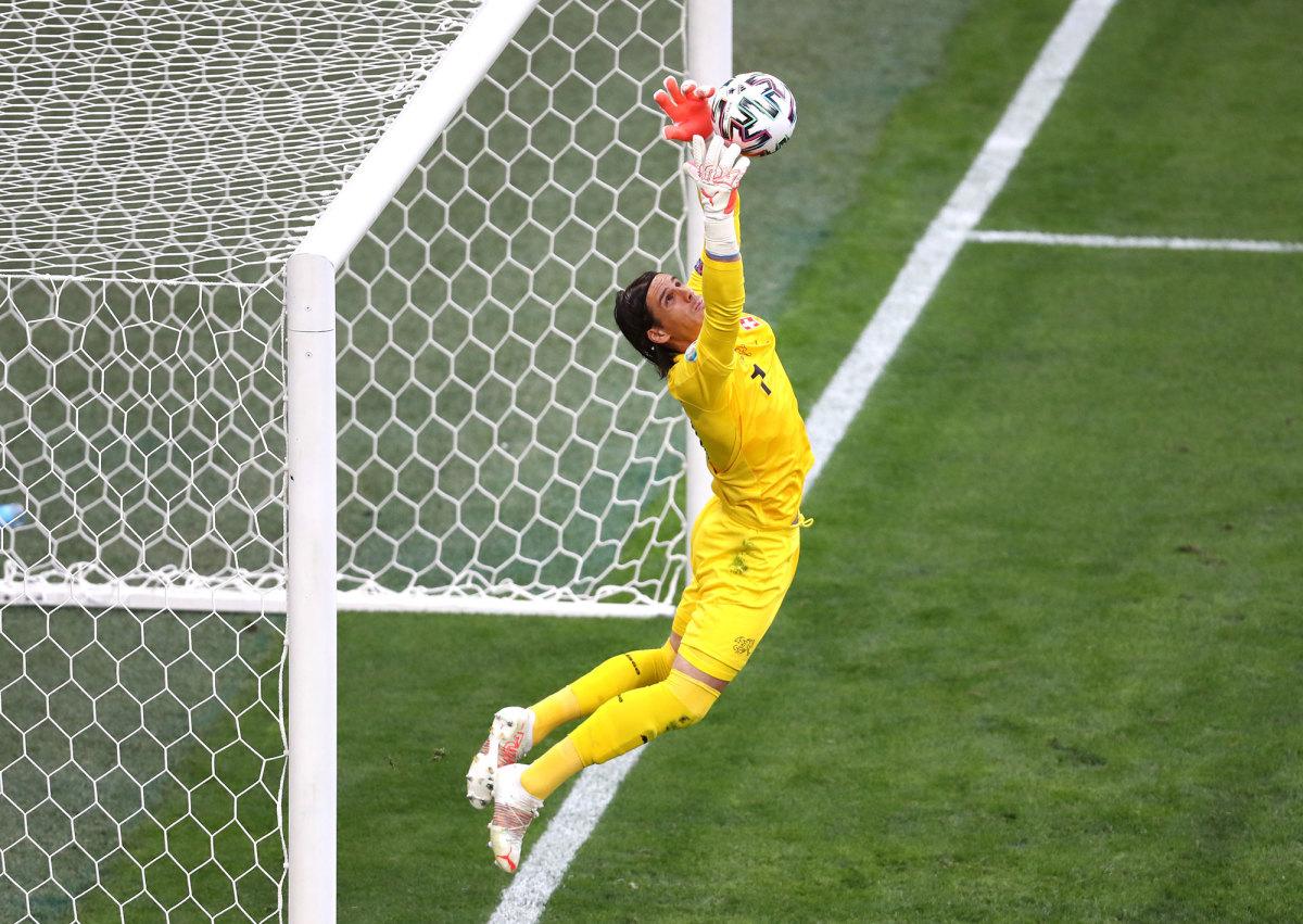 Switzerland goalkeeper Yann Sommer