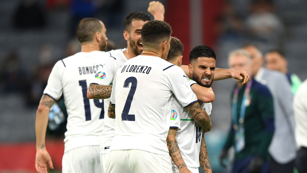 Italy beats Belgium to reach the Euro 2020 semifinals