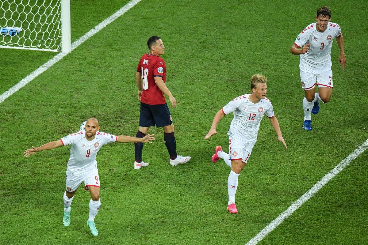 Denmark beats the Czech Republic in the Euro 2020 quarterfinals