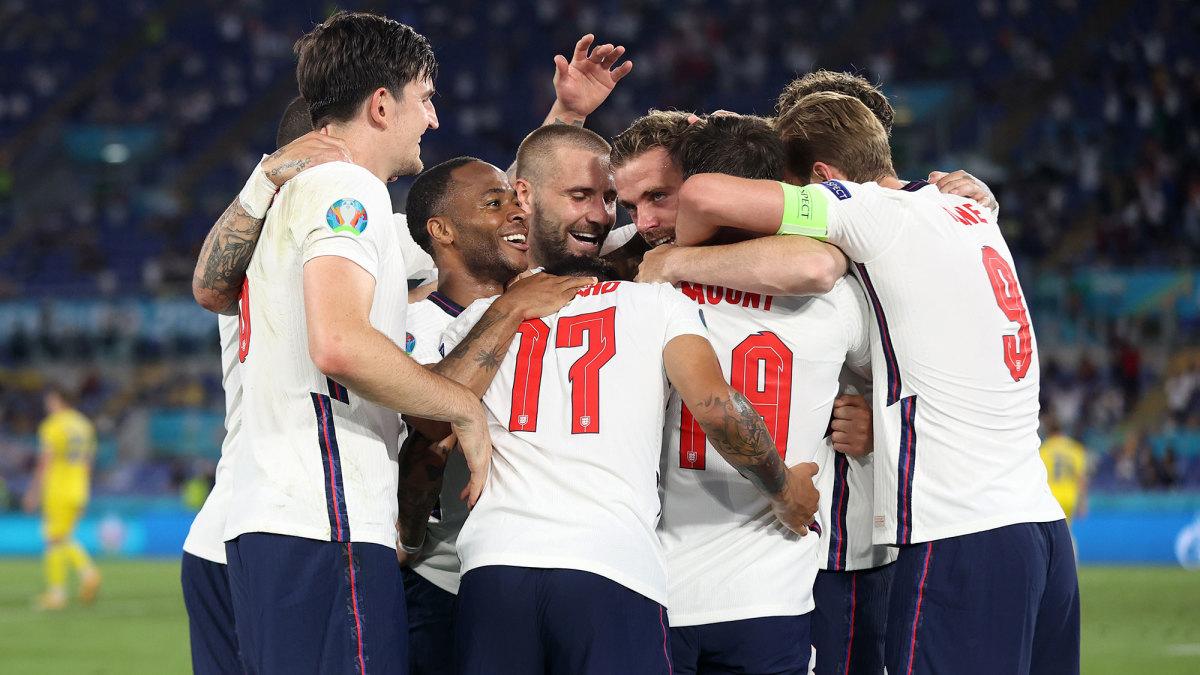 England beats Ukraine in the Euro 2020 quarterfinals