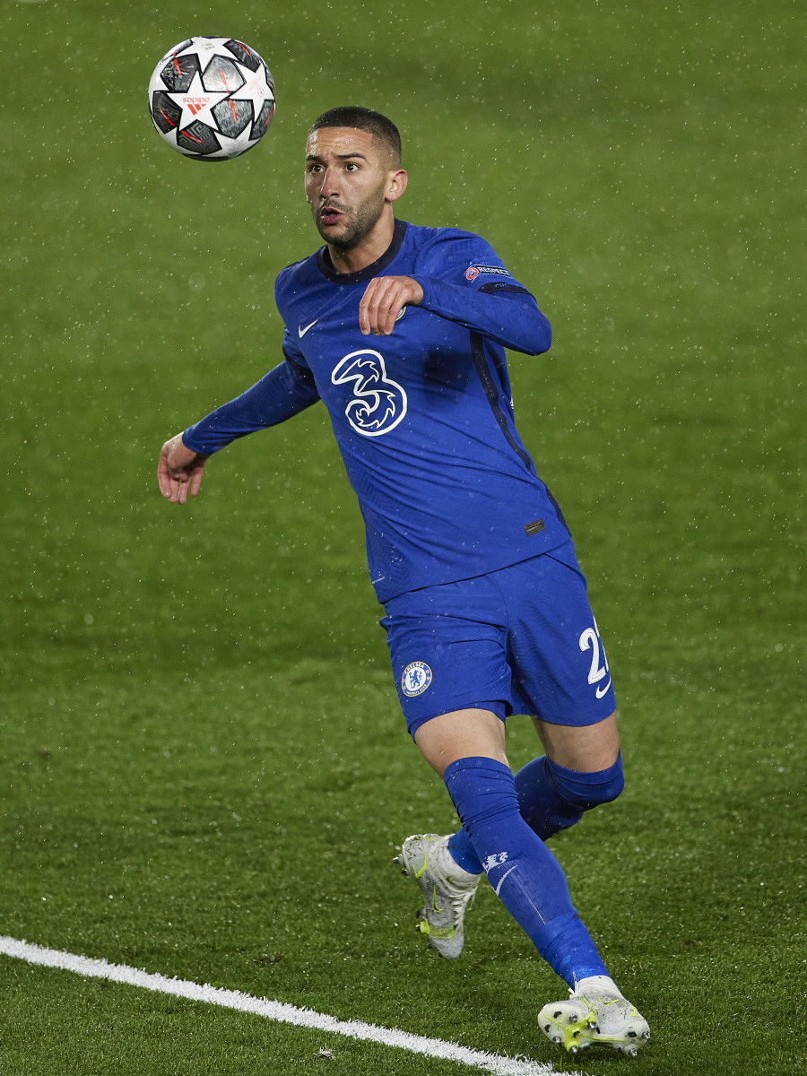 Ziyech has been linked with a move to AC Milan