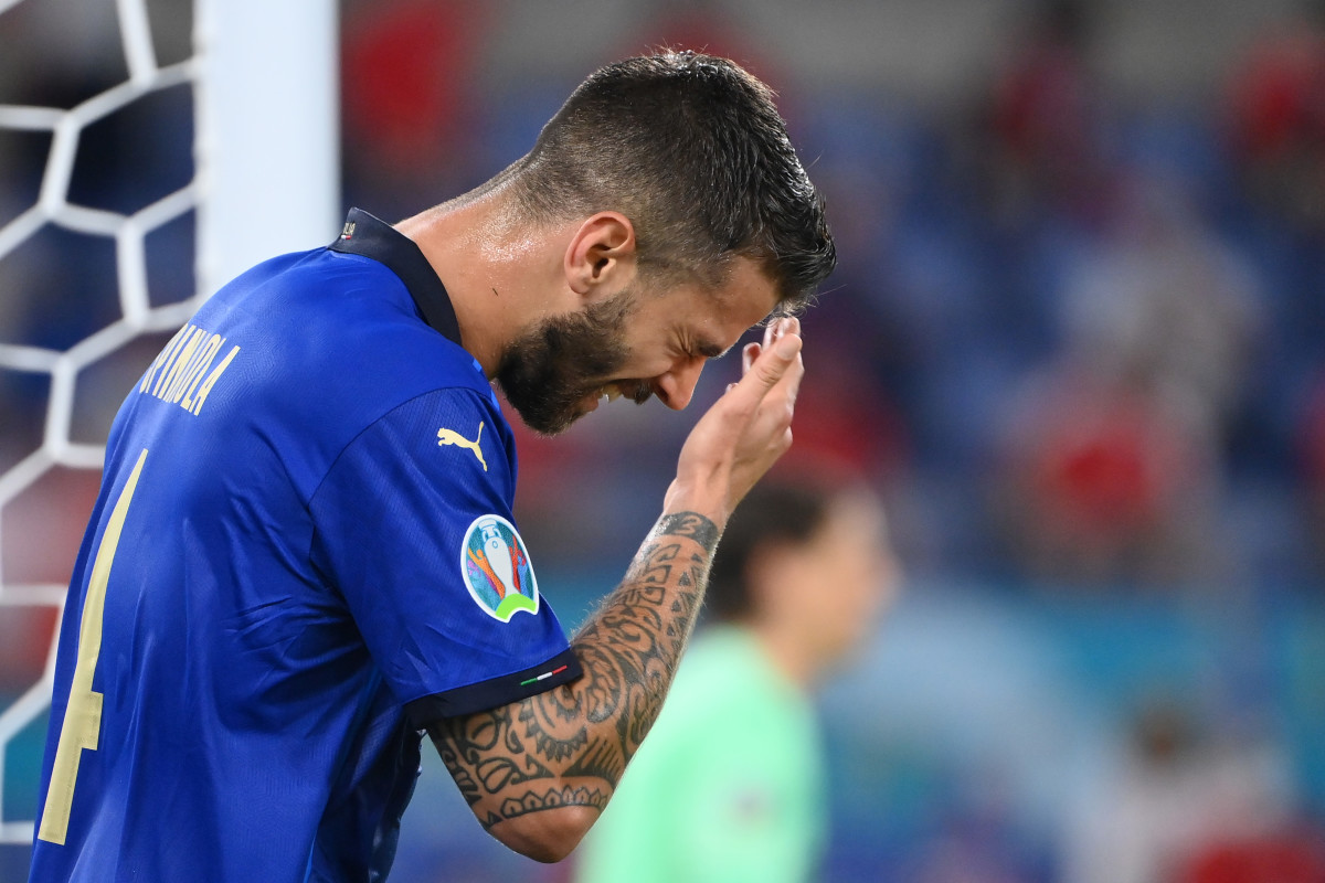 Spinazzola was showing fine form for Italy before his unfortunate injury