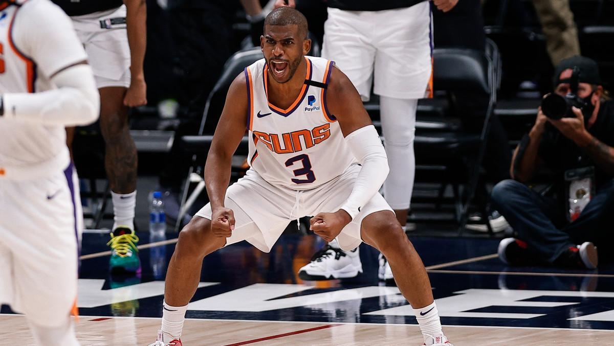 Phoenix Suns point guard Chris Paul