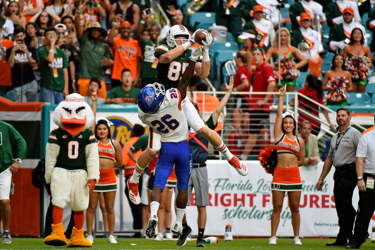 Will Mallory looks to continue the tight end success after seeing Brevin Jordan get drafted last year.
