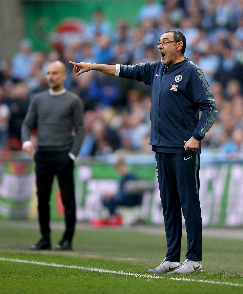 Sarri was often praised by his counter-part Pep Guardiola