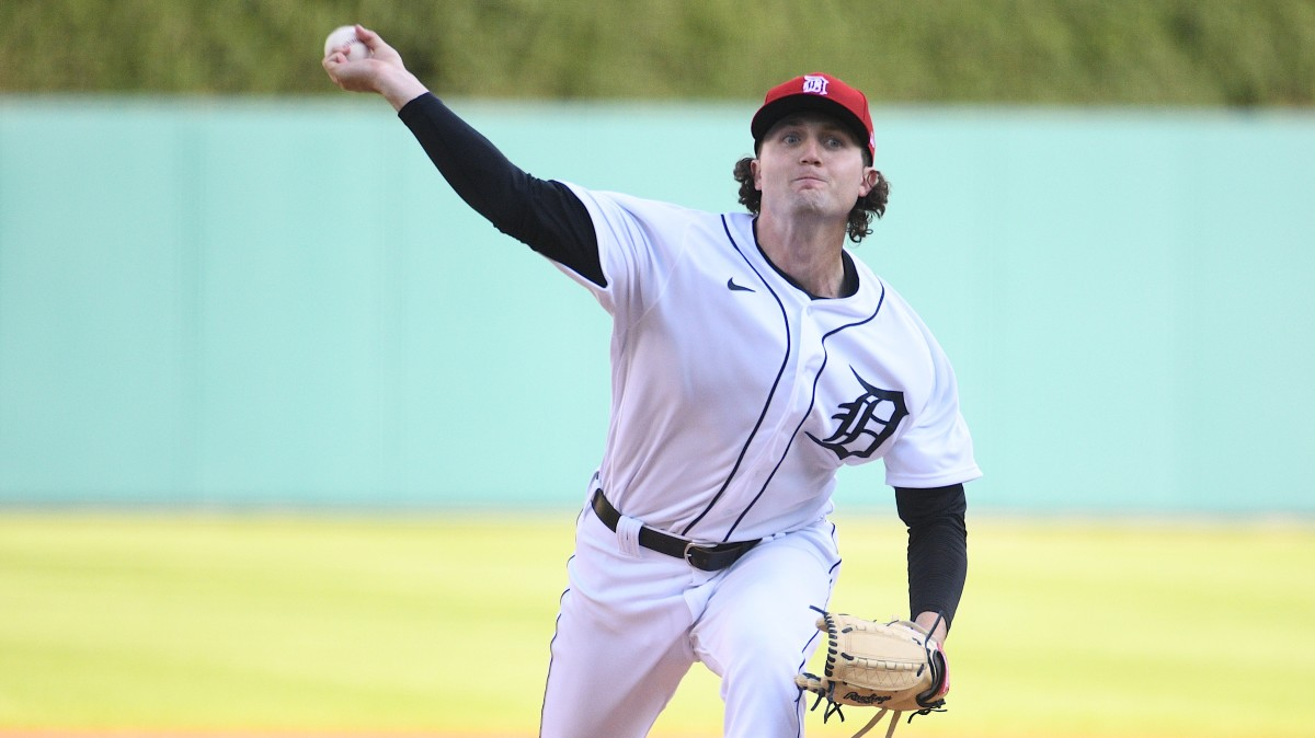 Tigers righthander Casey Mize