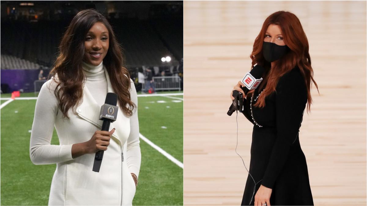 ESPN's Maria Taylor and Rachel Nichols