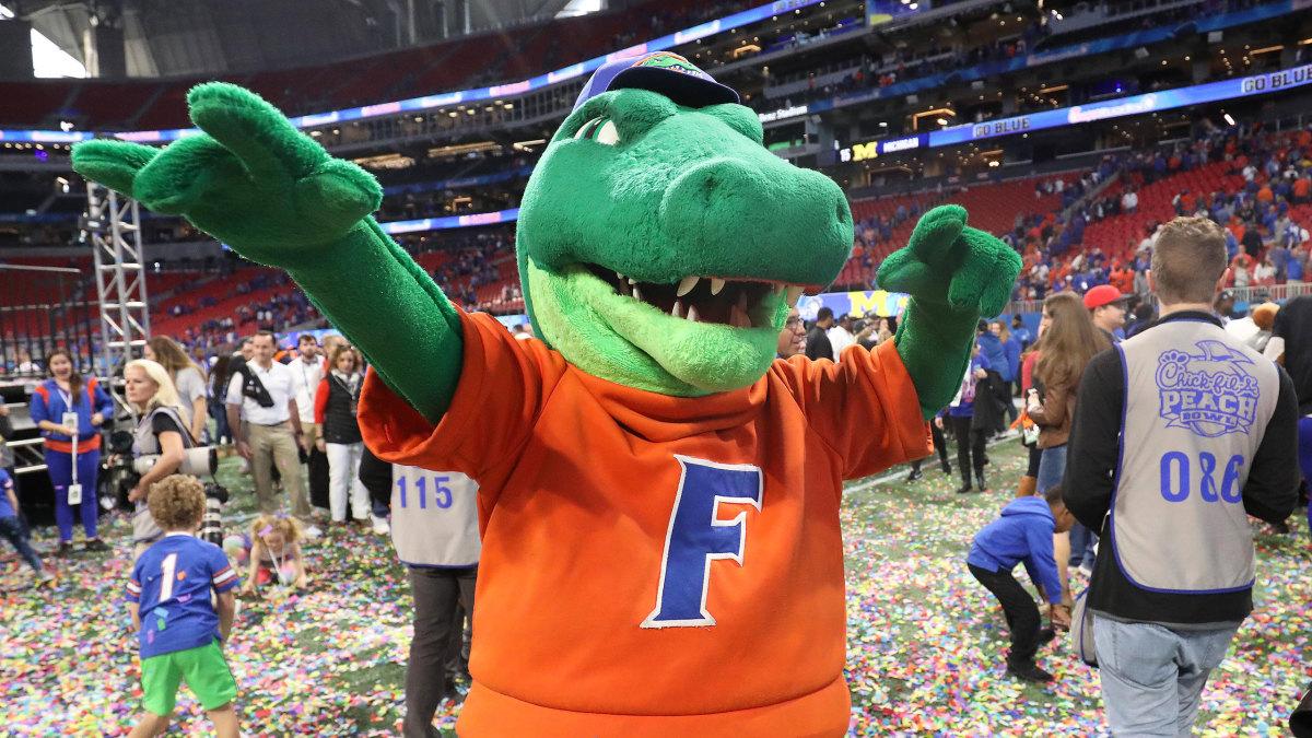 Florida Gators mascot