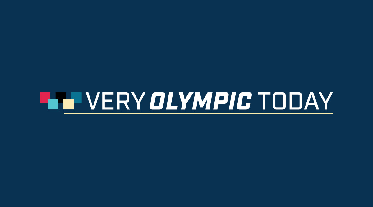very olympic today blue logo.