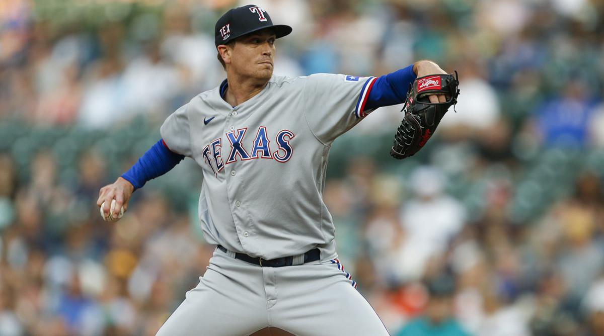 Rangers righthander Kyle Gibson