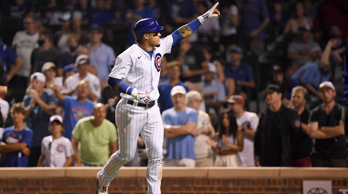 Cubs shortstop JavierBáez