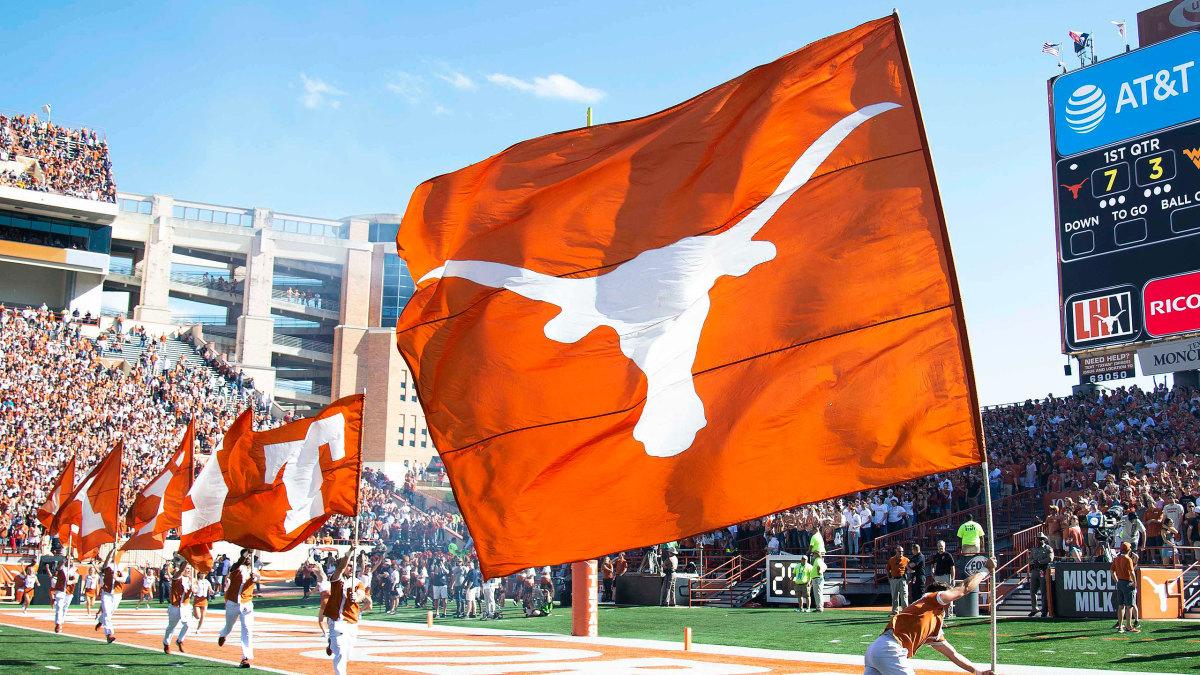 Texas Longhorns flag