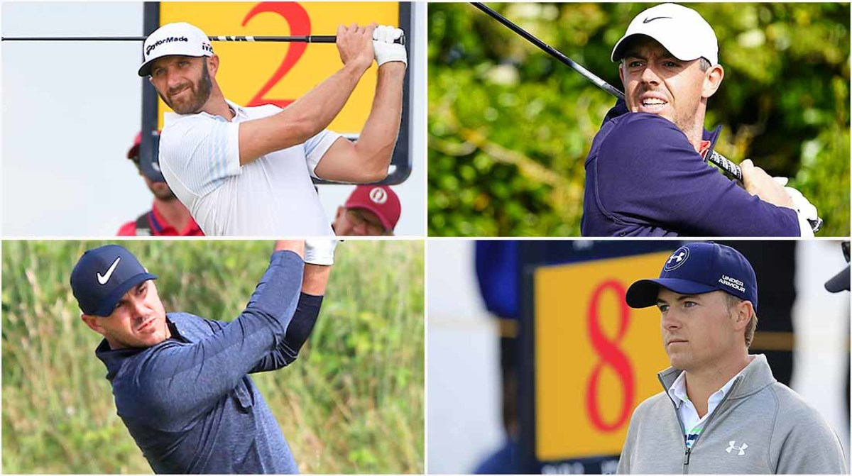 Dustin Johnson, Rory McIlroy, Jordan Spieth, Brooks Koepka, Bettors' Roundtable, 2021 British Open