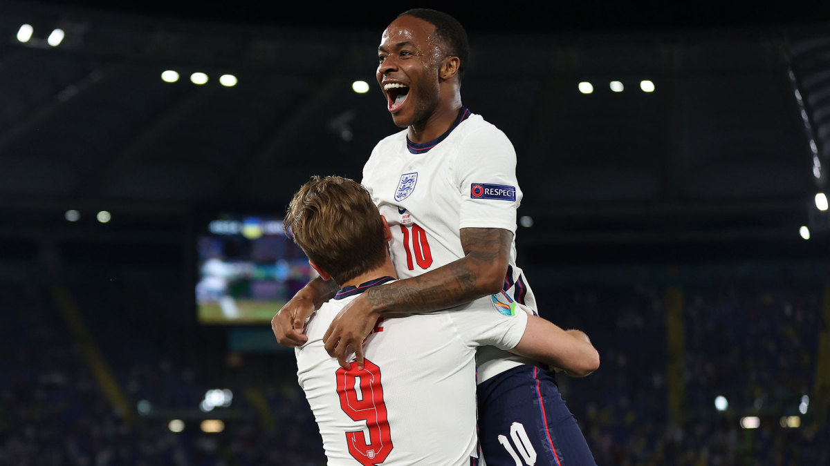 Raheem Sterling and Harry Kane have led England to the Euro 2020 final