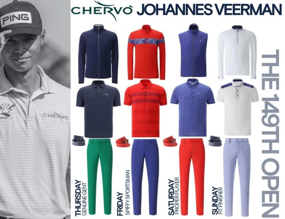Chervò - Johannes Veerman- 149th OPEN Championship