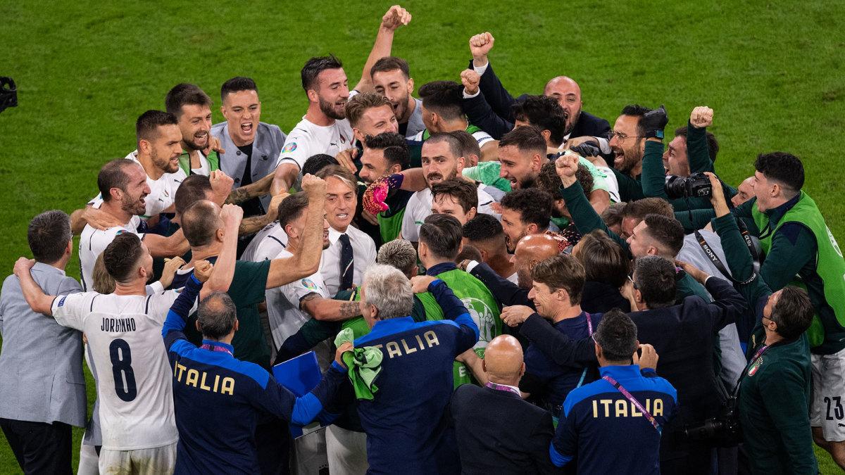Italy reaches the Euro 2020 final