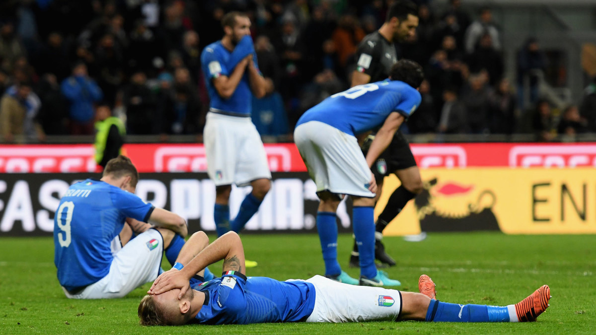 Italy misses the 2018 World Cup