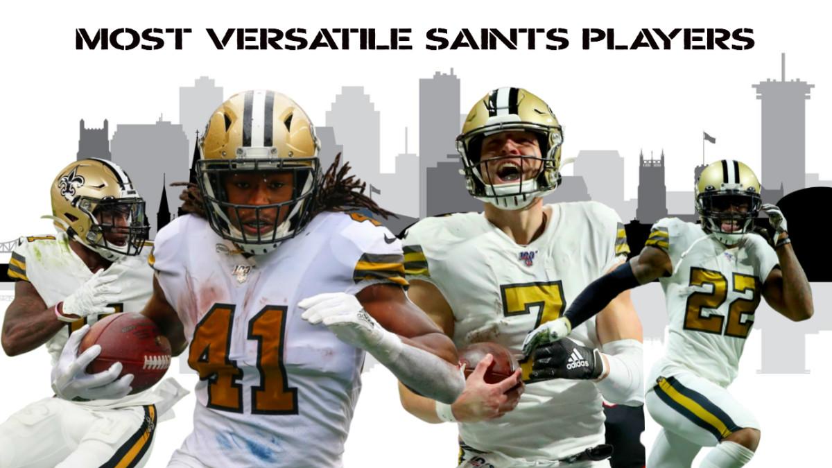 Most Versatile Saints Players
