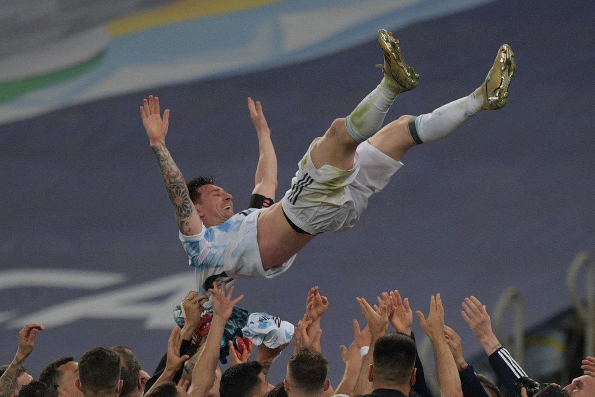 Lionel Messi and Argentina win Copa America