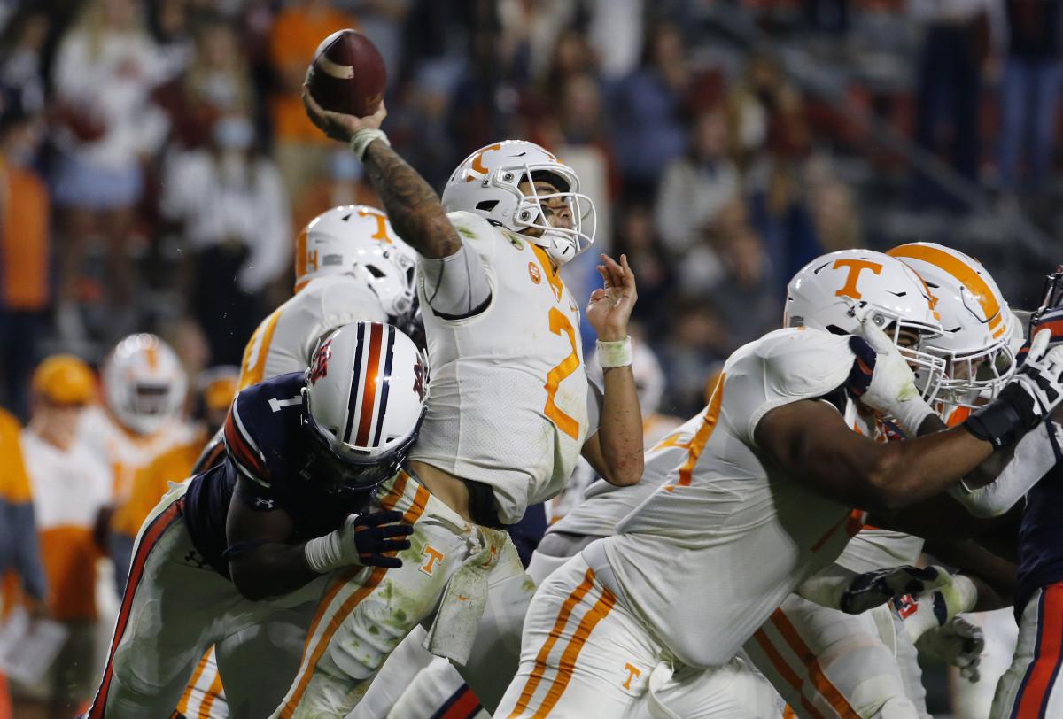 Big Kat Bryant Hits the Tennessee Quarterback