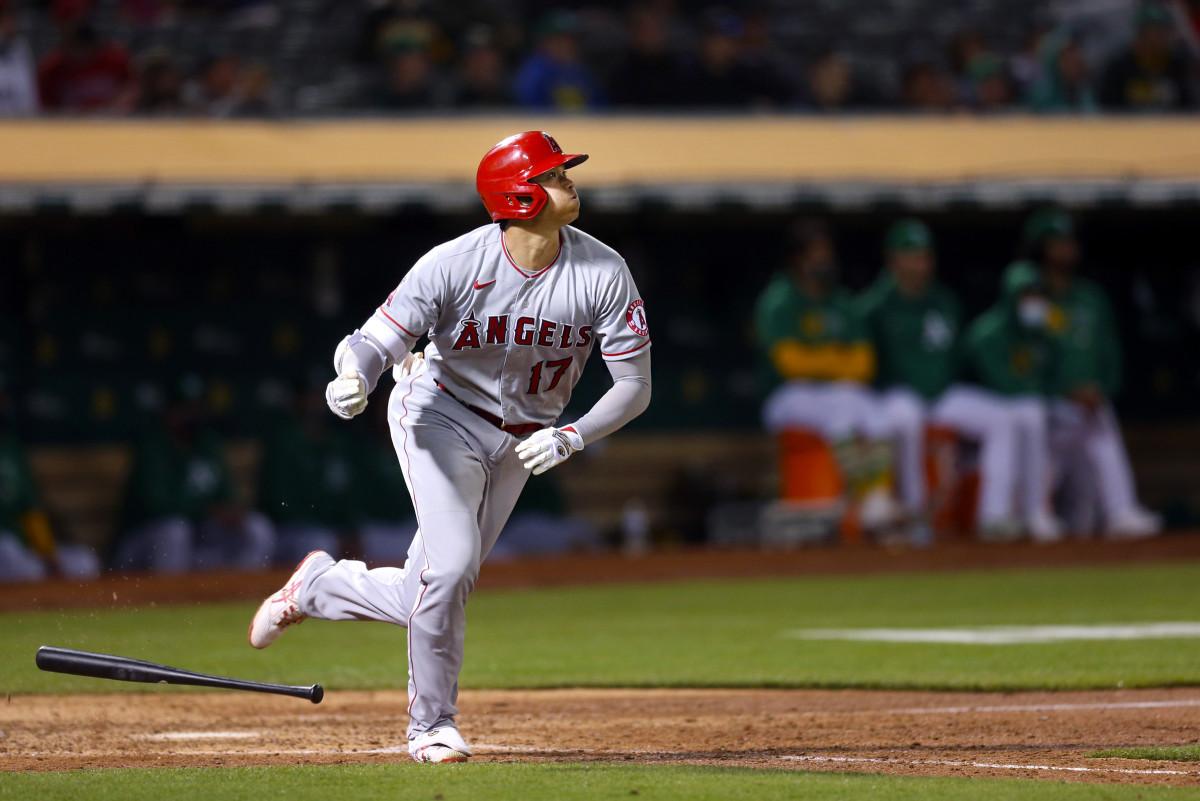 Shohei Ohtani home run