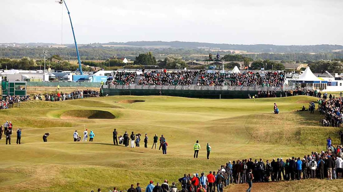 Royal St. George's, 2021 Open