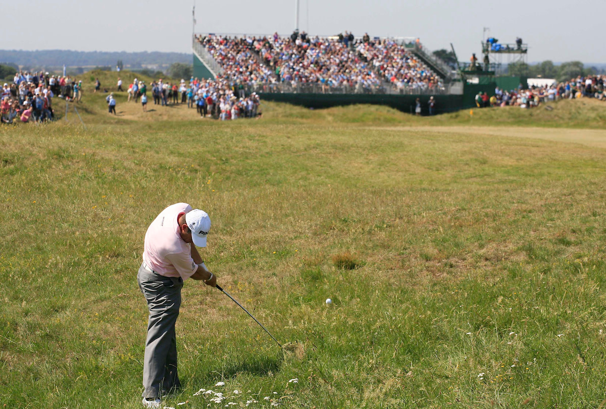 At Royal St George's, unexpected bad bounces and confounding lies are often the norm.