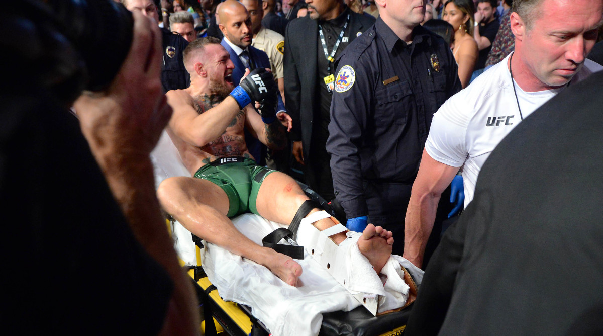 Mixed martial artist Conor McGregor