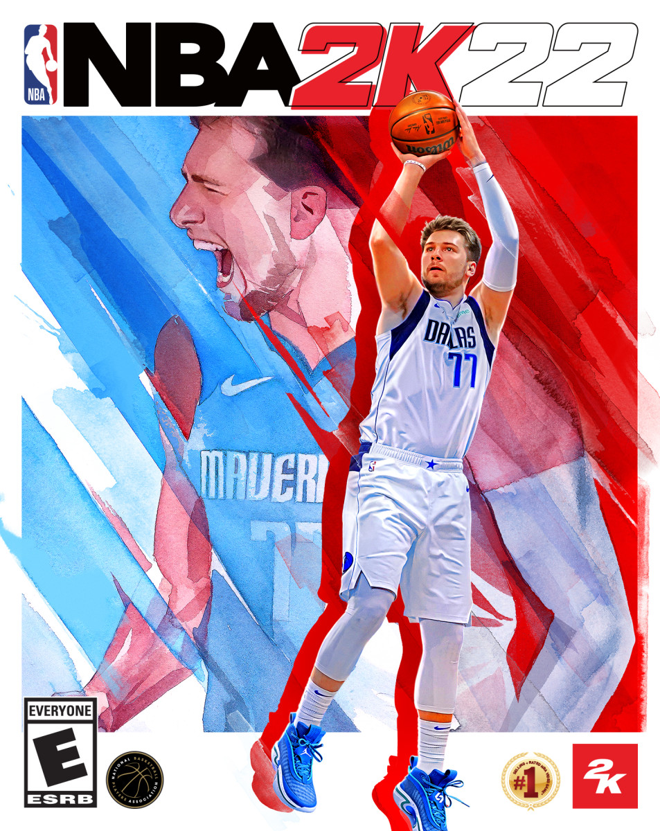 Luka Doncic named cover athlete of NBA 2K22 - Sports Illustrated