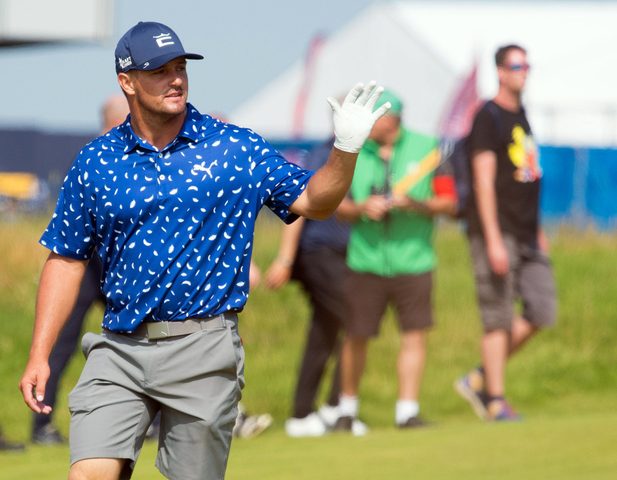 Bryson DeChambeau continues his war of words with Brooks Koepka at British Open.