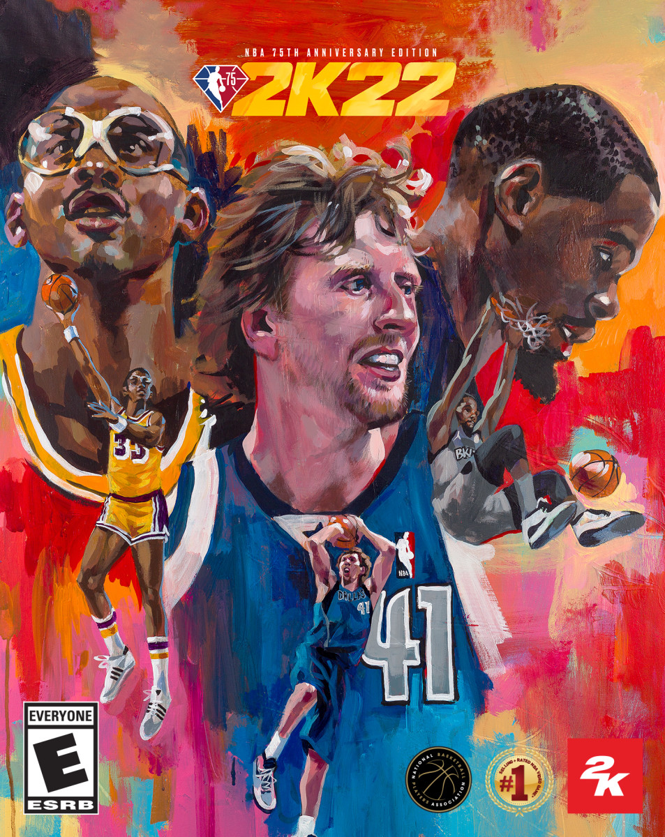 2K22 Legends Edition Cover