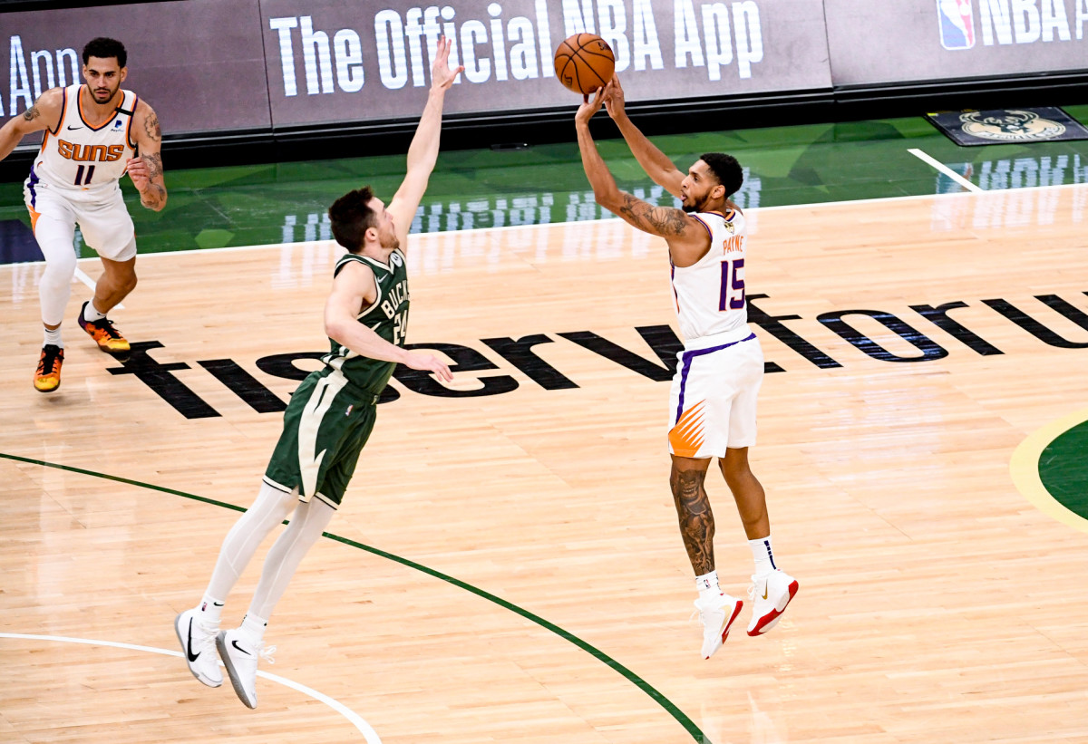 Payne's breakout year has been key to the Suns' Finals run, but should teams interested in the impending free agent trust his 44% three-point shooting this season, nearly 7 percentage points above his career average?