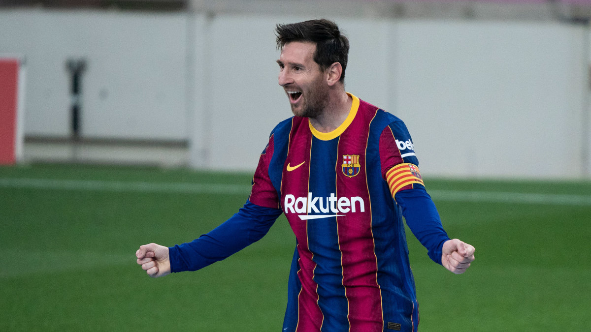 Lionel Messi is staying put at Barcelona