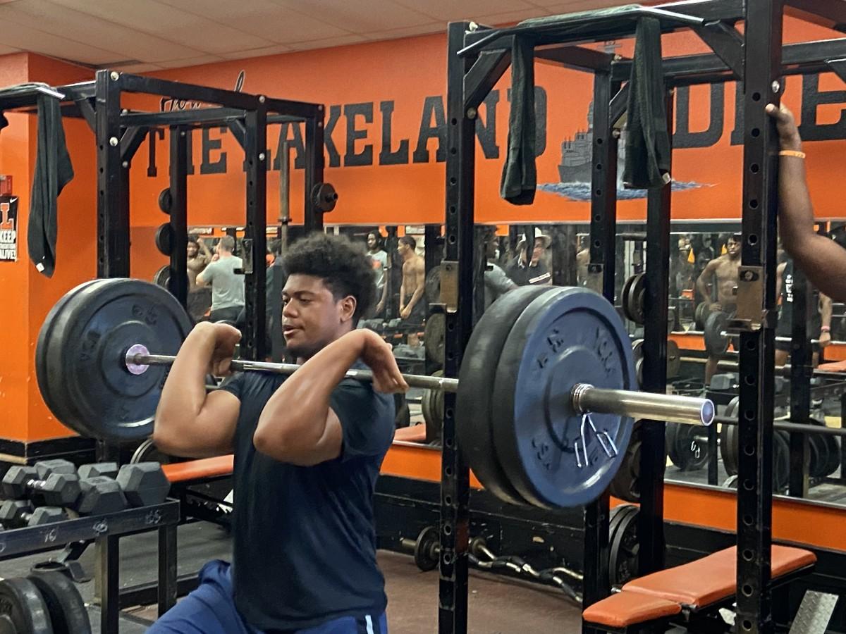 Keahnist Thompson, Defensive End, Lakeland (Fla.) High School