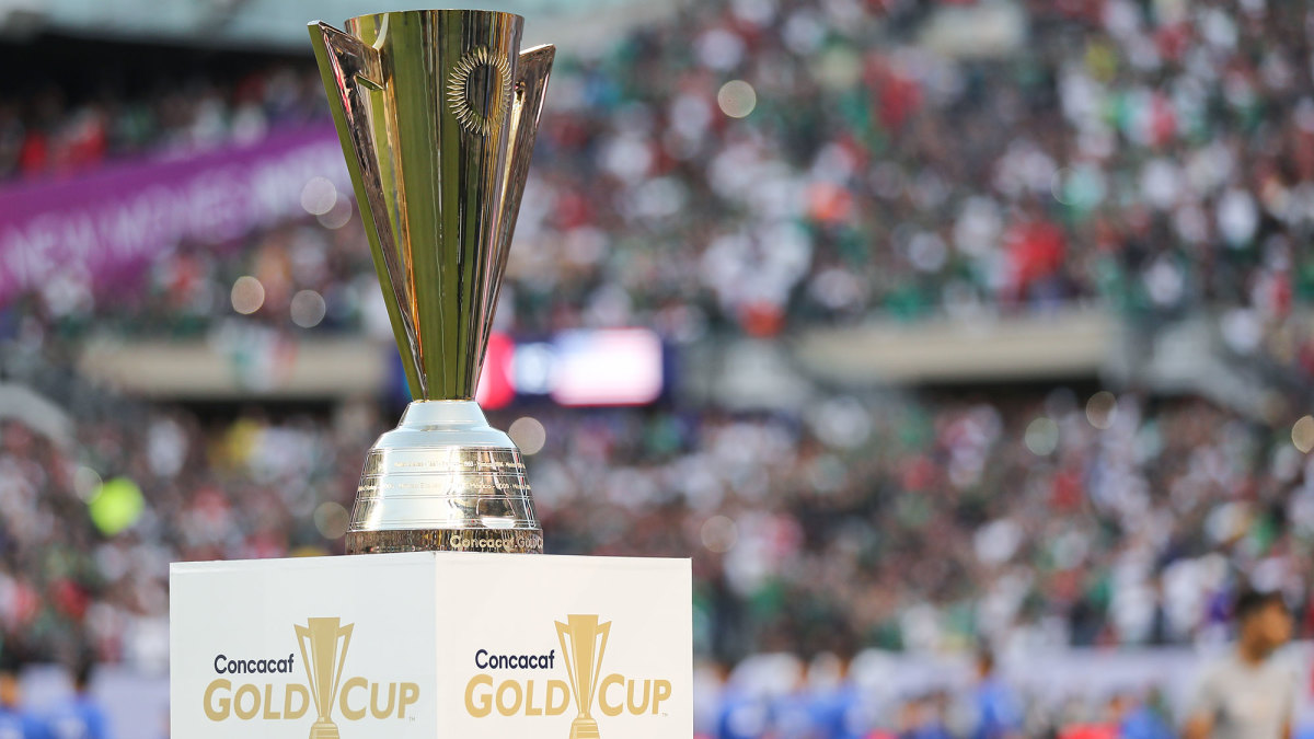 The Concacaf Gold Cup trophy