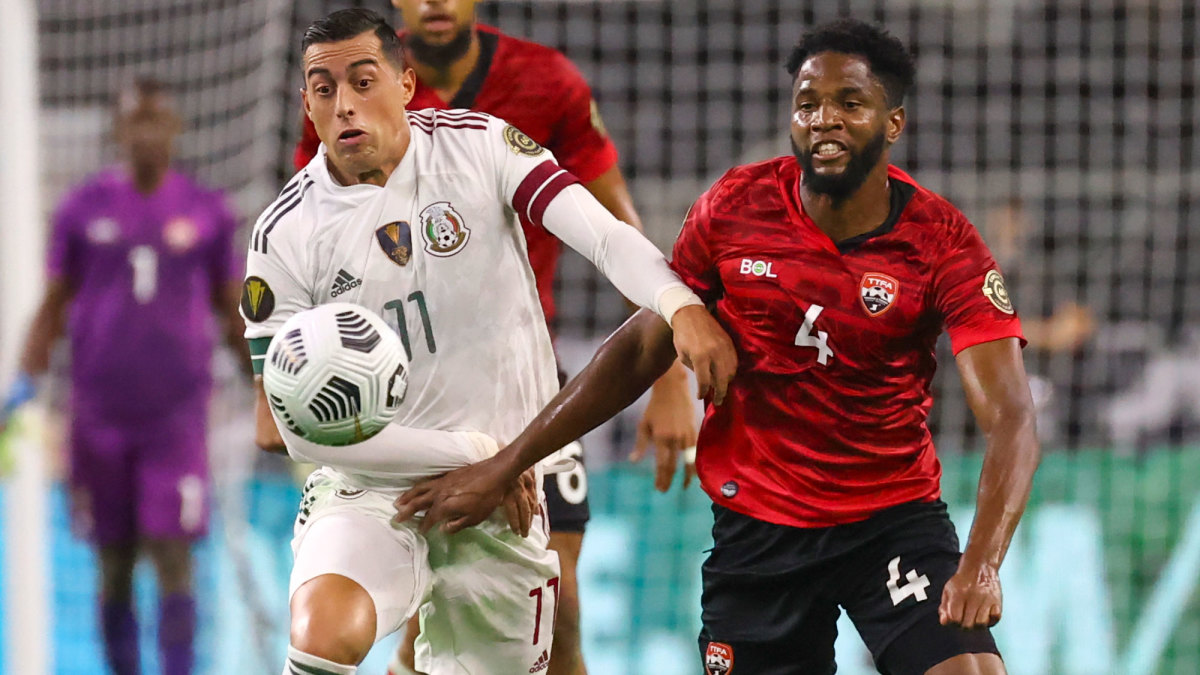 Mexico and Trinidad & Tobago played to a draw at the Gold Cup