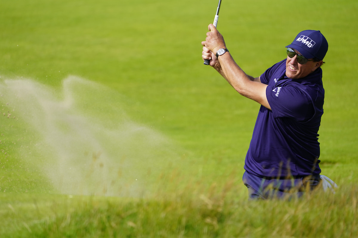Phil Mickelson's opening-round 80 was his worst in 27 British Open appearances.
