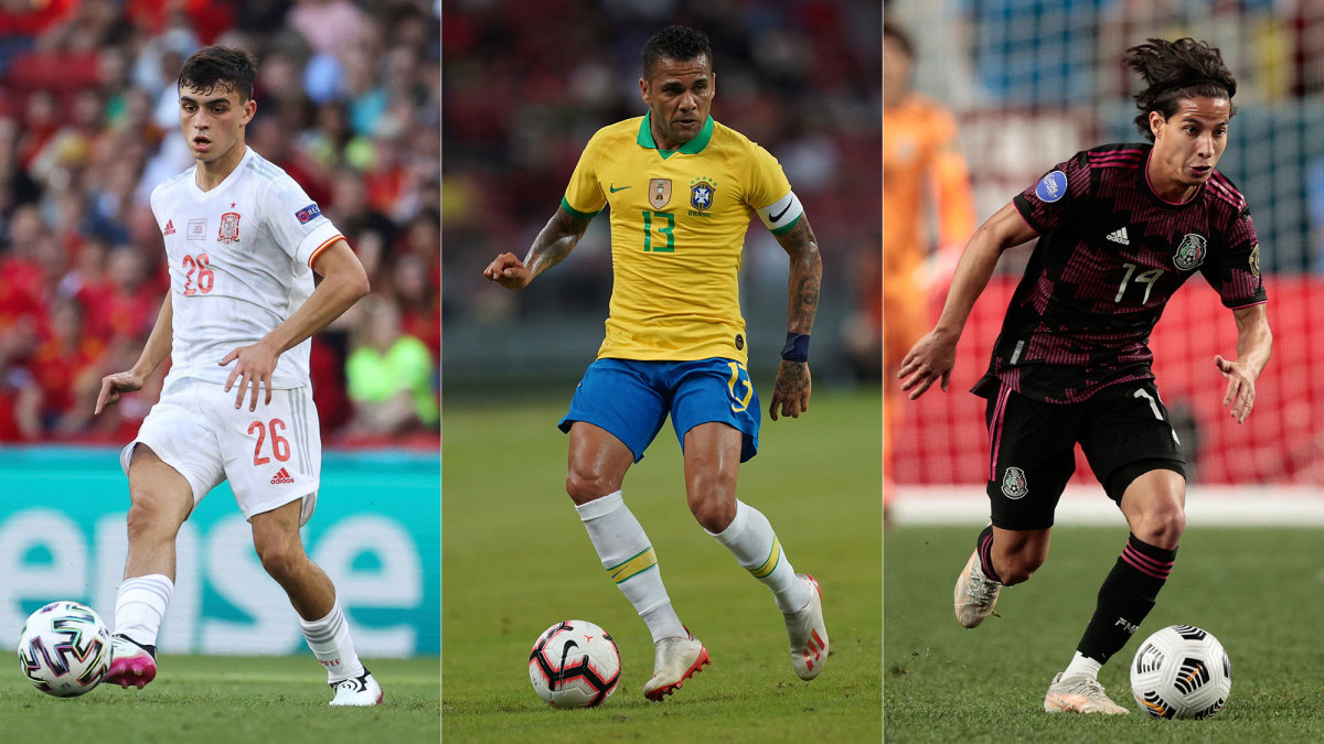 Pedri, Dani Alves and Diego Lainez will be on display at the Olympics