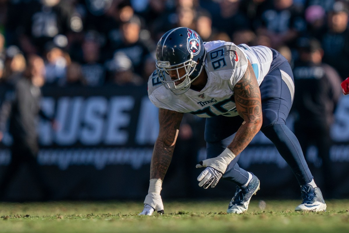 December 8, 2019; Tennessee Titans defensive end Jurrell Casey (99). Mandatory Credit: Kyle Terada-USA TODAY