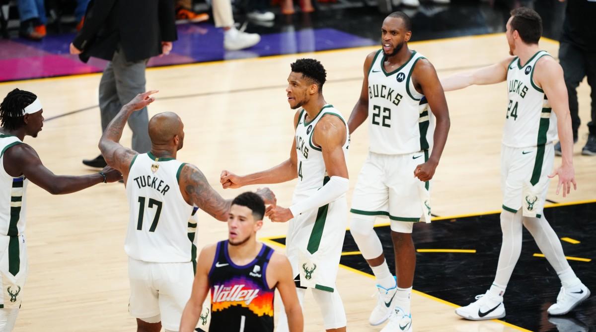 Bucks' Tenacity Creates Chance for Storybook Finals Win