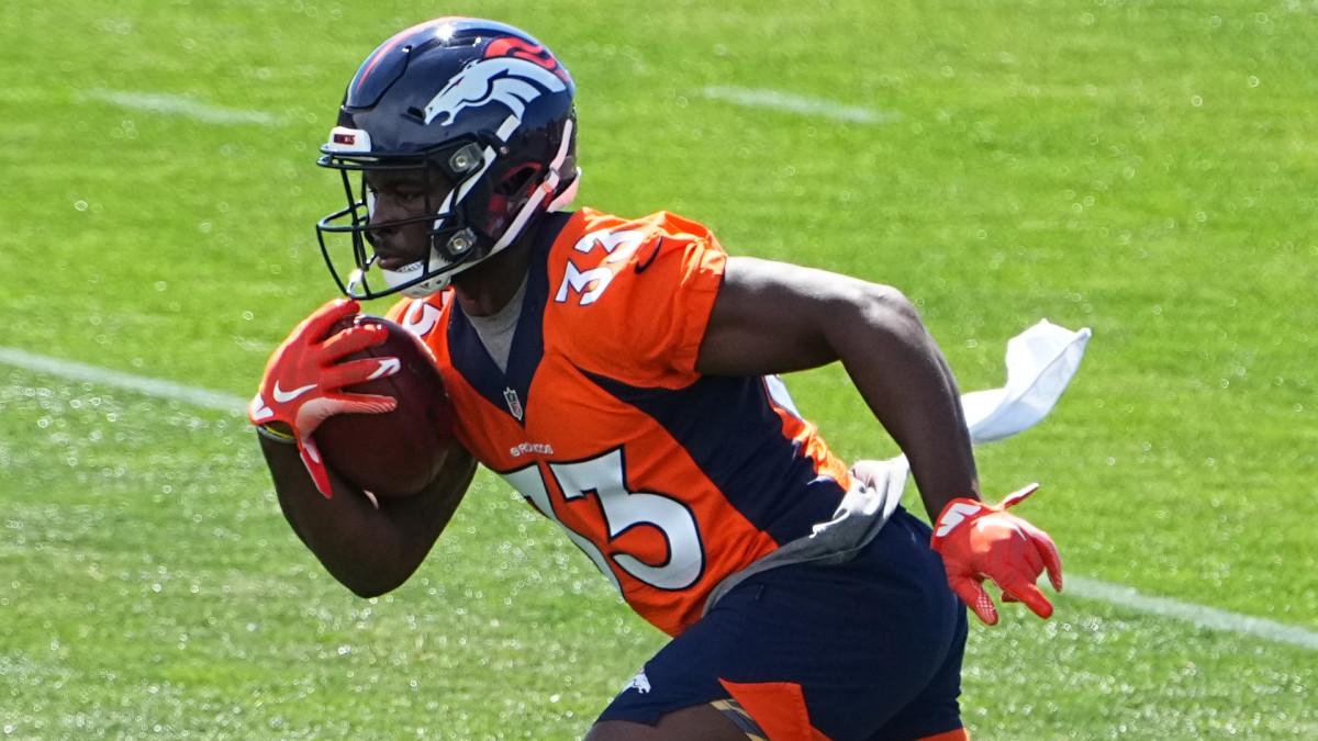 Denver Broncos Javonte Williams