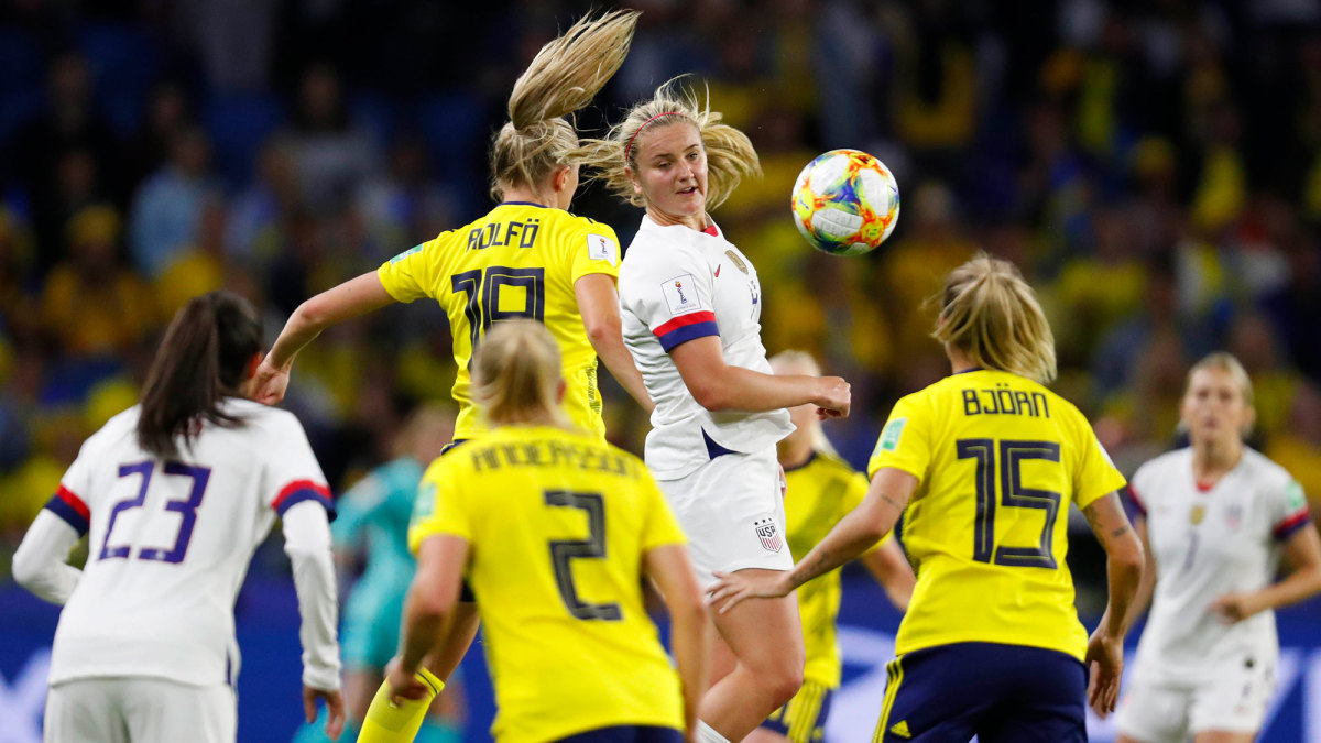 Lindsey Horan and the USWNT face Sweden in the 2019 Women's World Cup
