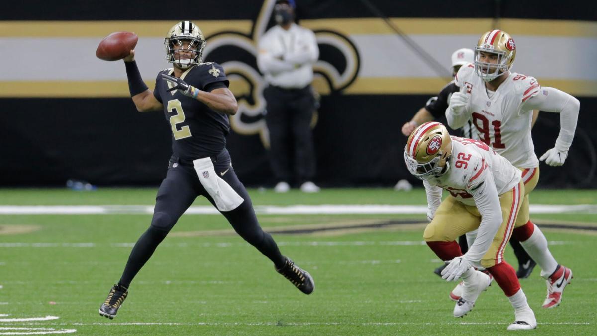 New Orleans Saints quarterback Jameis Winston (2). Credit: Nola.com