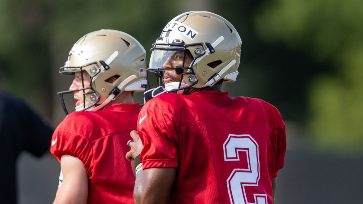 Jameis Winston and Taysom Hill