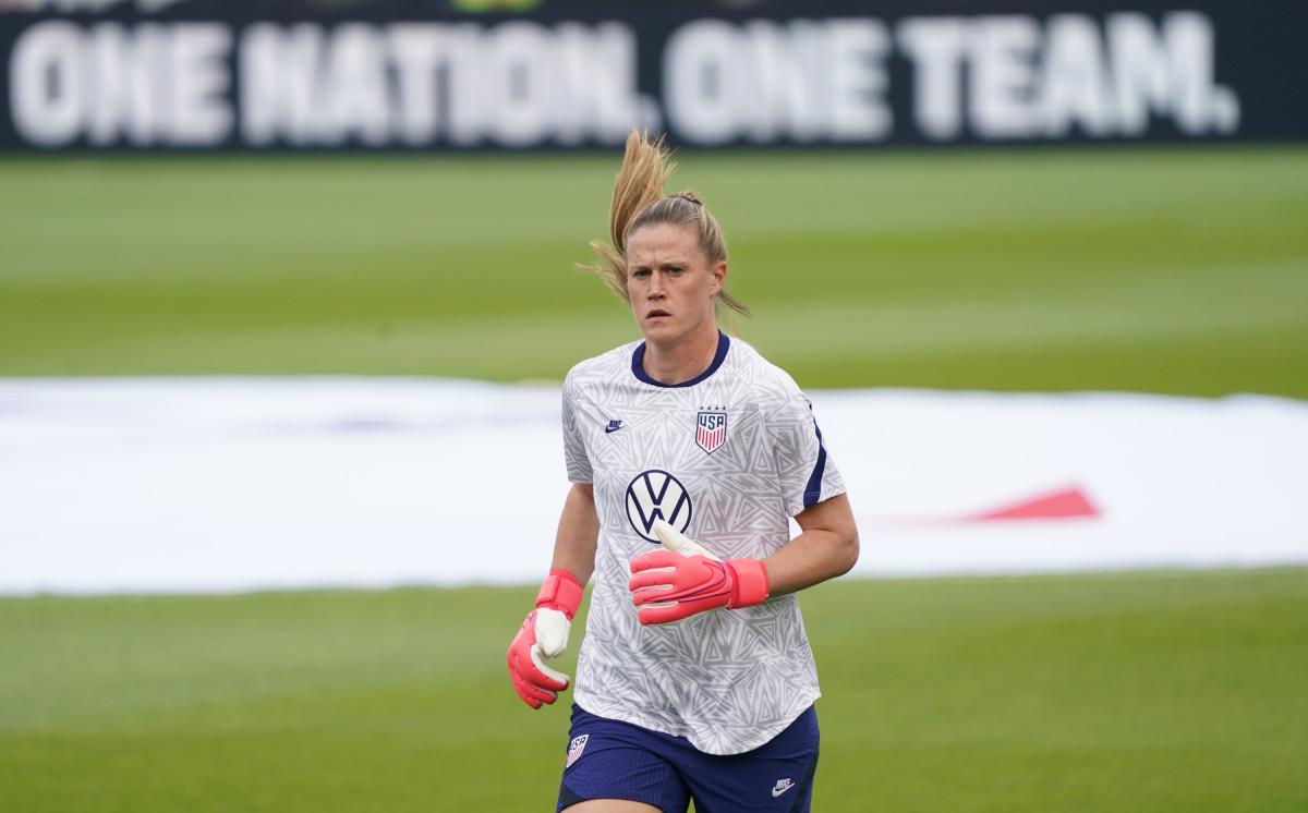 Alyssa Naeher (David Butler II/USA Today Sports)